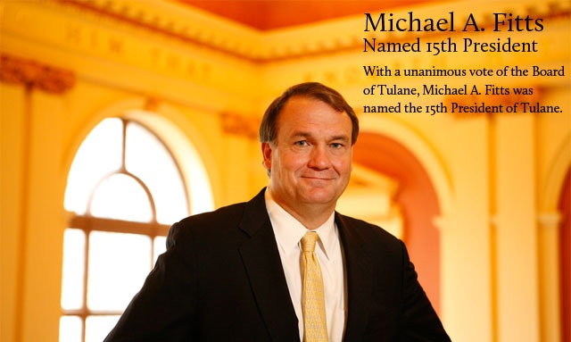 Michael A. Fitts Named 15th President