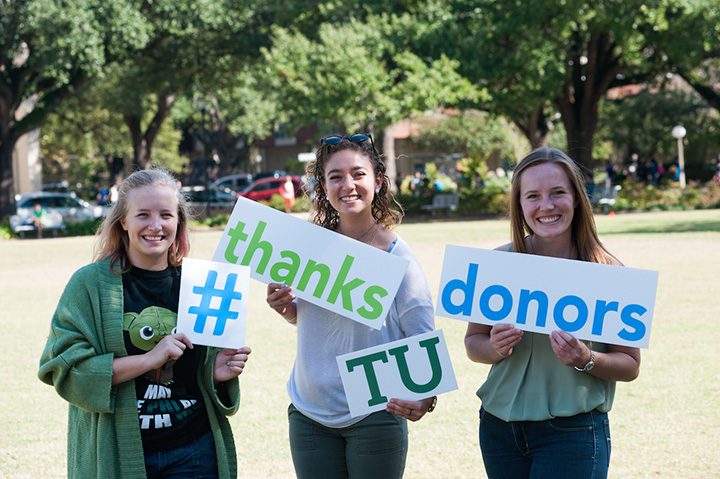 #thanksTUdonors